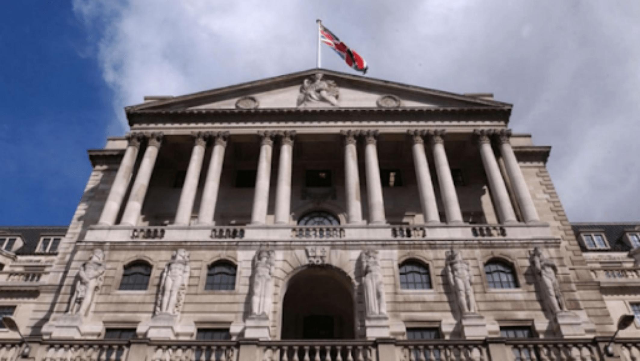 영국은행에서 중앙은행이 기술 회사에 대한 지불을 잃을 수 있다고 했습니다